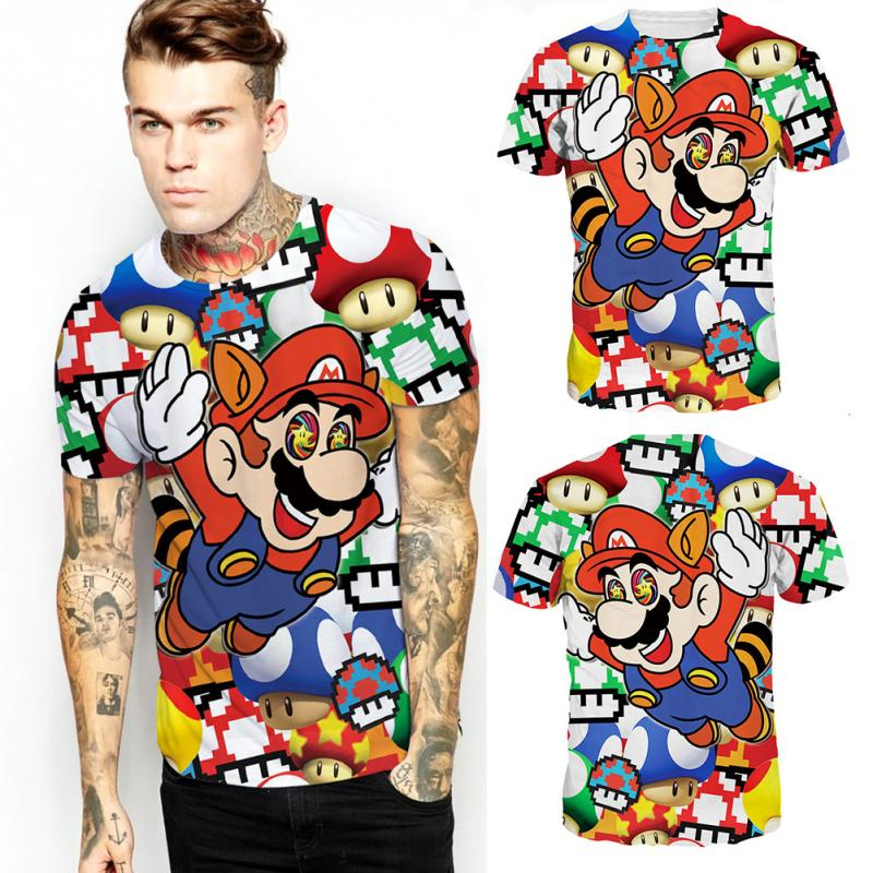 Super Mario on Shrooms T-Shirt! (FREE SHIPPING)