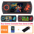 64-Bit Handheld Video Game Console 1300 Built In Games for NEOGOE\CPS\GBA\GBC\GB\SFC\FC\MD\GG\SMS MP3/4