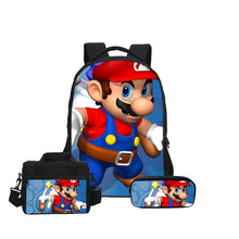 3pcs Super Mario Back Pack (FREE SHIPPING)
