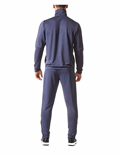 adidas Men s Tiro Track Suit 3 Stripes Tracksuit Trace Blue/Navy