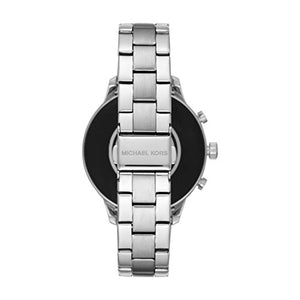 Michael Kors Access Runway Stainless Steel Smartwatch Color Silver Tone Model Mkt5044