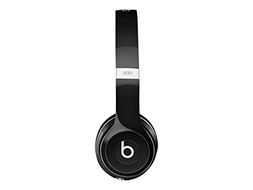 Beats By Dre Solo 2 Luxe Edition On-Ear Headphones | Black (WIRED,  Not Wireless)