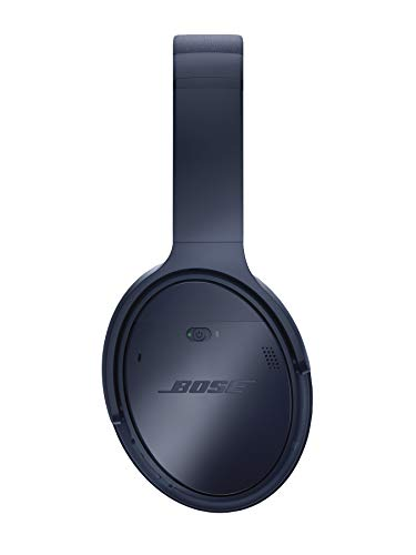 Bose QuietComfort 35 (Series II) Wireless Headphones, Noise Cancelling, with Alexa voice control – Triple Midnight