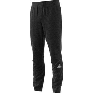 adidas Men's Basketball Cross Up Pants, Black/Black, Large