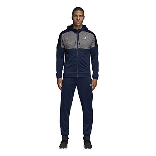 adidas Men Track Suit Running Hoodie MTS Gametime Training Gym Work Out CZ7846 New
