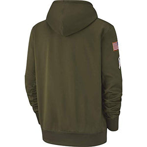2018 Salute to Service Pullover Hoodie Sweatshirt On-Field Unisex