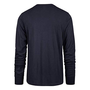 '47 New England Patriots Long Sleeve Tee Pregame Super Rival Tee (Medium)
