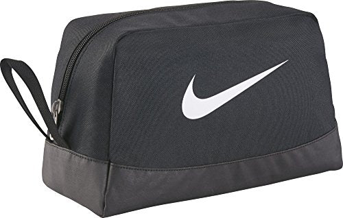 Nike Club Team Swoosh Toiletry Bag Bag, 27 cm, Black (White)