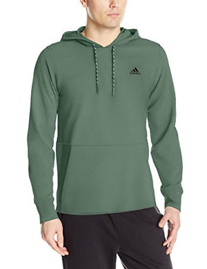 adidas Men's  Pique Pull Over Hoodie