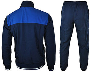 Puma Mens Tracksuit Woven Fun Training Jacket/Pant Navy Blue S-XL New 830046 10 (S)