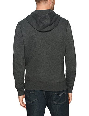Amazon Essentials Men's Hooded Fleece Sweatshirt, Charcoal Heather, X-Large
