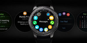 SAMSUNG GEAR S3 FRONTIER Smartwatch 46MM (Bluetooth Only) - Dark Grey (Certified Refurbished)