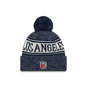 New Era Authentic Los Angeles Rams Sport Knit NFL 2018 Beanie, OSFM - Pharaoh Athletics