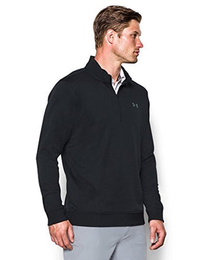 Under Armour Men's Storm SweaterFleece 1/4 Zip, Black/Black, XX-Large