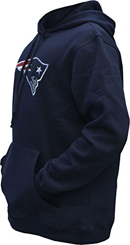 Mens Athletic Football Patriots Pullover Hoodie (XXL)