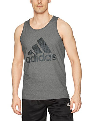adidas Mens Athletics Badge of Sport Tank Top