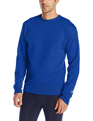 Champion Men's Powerblend Pullover Sweatshirt, Surf the Web, Medium