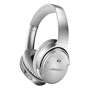 Bose QuietComfort 35 (Series II) Wireless Headphones, Noise Cancelling, with Alexa voice control – Silver