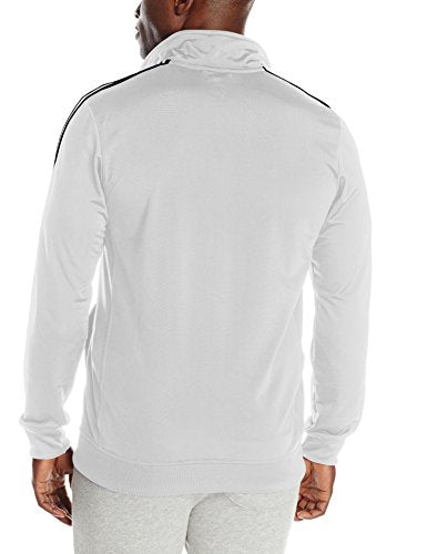 adidas Men's Essential Tricot Jacket, White/Black, XX-Large
