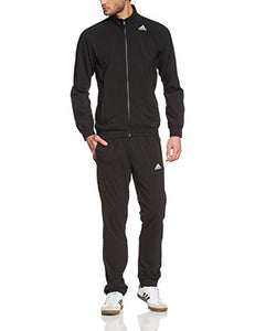 adidas Men's Essentials Woven Tracksuit Track Top Pants Training Set Black S22466 (UK 42/44 (Manufacturer Size 186))
