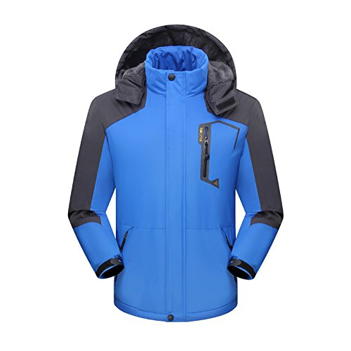 CROTI Ski Jacket Waterproof Windproof Snow and Rain Coat Men/Women's Slim Thickening Outdoors