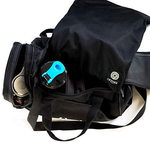 Gym Bag Waterproof Sport Sack Prevents Bacteria & Odor From Sweat for Smell Proof Travel Ornadi