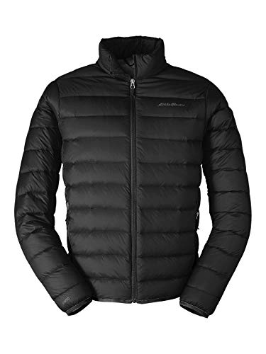 Eddie Bauer Men's CirrusLite Down Jacket, Black Regular L