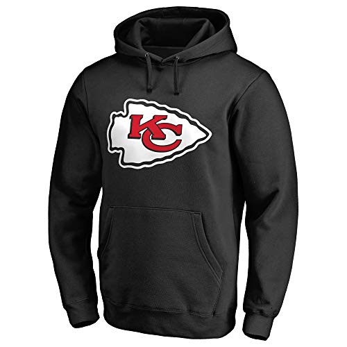 NflApparel Kansas City Chiefs Performance Pullover Hoodie – Black, S, Mens - Pharaoh Athletics