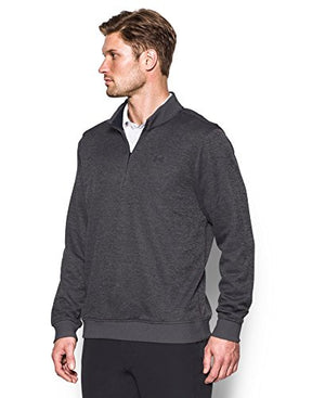 Under Armour Men's Storm SweaterFleece 1/4 Zip, Carbon Heather/Carbon Heather, Large