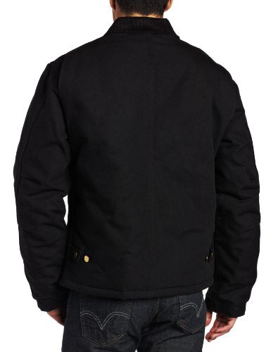 Carhartt Men's Arctic Quilt Lined Duck Traditional Jacket,Black,Medium