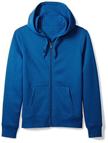 Amazon Essentials Men's Full-Zip Hooded Fleece Sweatshirt, Blue, X-Large