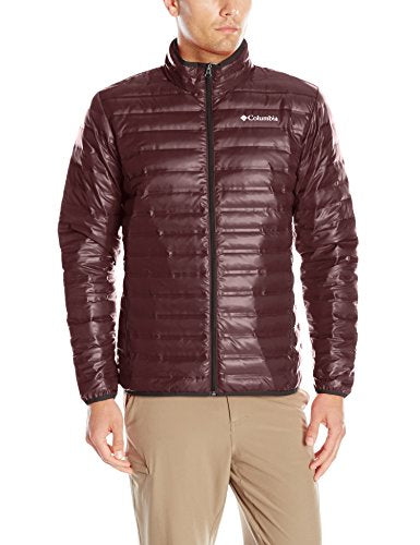 Columbia Men's Flash Forward Down Jacket, New Cinder, Large