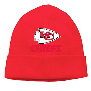 Jeffredy Kansas City Chiefs American Football Team Knitted Cap Limited Edition Beanie Hat for Men and Women