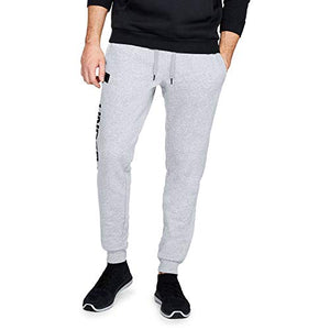 Under Armour UA Rival Fleece Script Joggers XXX-Large Steel Light Heather