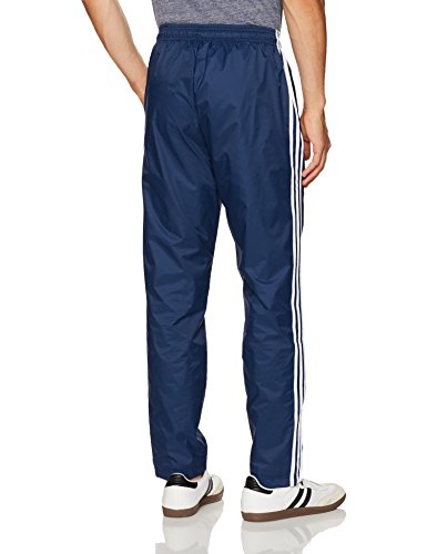 adidas Men's Essentials 3-Stripe Wind Pants, Collegiate Navy/Collegiate Navy/White, Medium