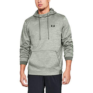 Under Armour Men's Armour Fleece Twist Pull Over Hoody, Moss Green (492)/Artillery Green, XXX-Large