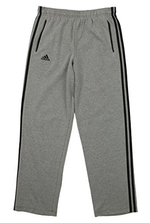 adidas Men's Classic Track Pant, Grey Medium