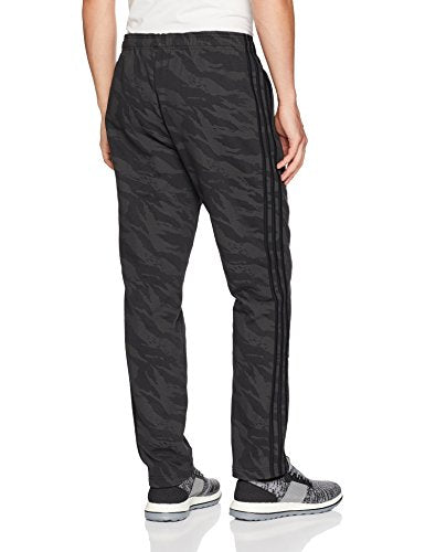 adidas Men's Athletics Essential Cotton Pants, Black, Large