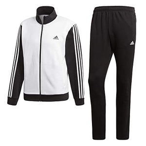 adidas Men Track Suit Relax Running Work Out Gym Training White Comfy DN8521 New