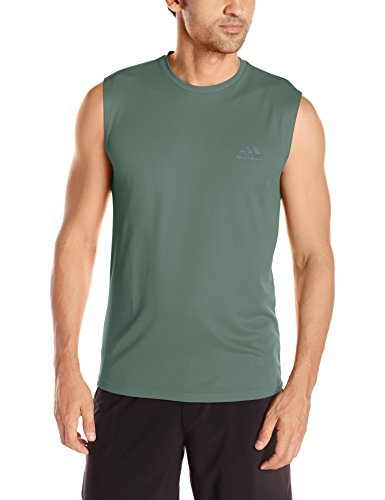 adidas Men's Training Essentials Tech Sleeveless Tee