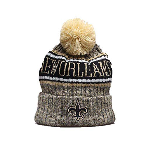 Gloral HIF New Orleans Saints Winter Cuffed Hat Fashion Toque Cap for Fans