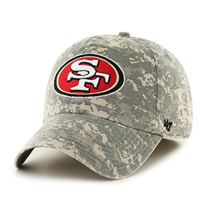 '47 NFL San Francisco 49ers Officer Franchise Fitted Hat, X-Large, Digital Camo