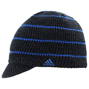 adidas Men's Ace Brimmer Beanie, Black/Deepest Space/Blue, One Size
