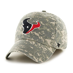 '47 NFL Houston Texans Officer Franchise Fitted Hat, Large, Digital Camo