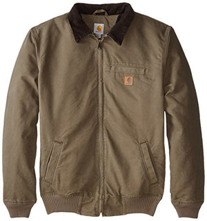 Carhartt Men's Big & Tall Bankston Jacket,Light Brown,3X-Large