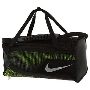 Nike Mens Vapor Max Air Medium Training Duffel Bag BA5475-010 - Black/Volt