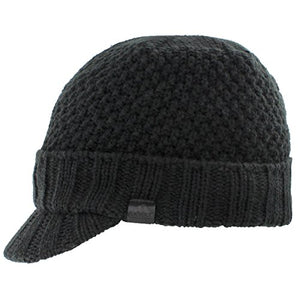 adidas Men's Blackcomb Brimmer Beanie, Black, One Size