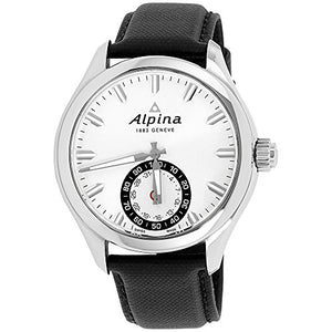 Alpina Men's AL-285S5AQ6 Horological Smart Analog Display Swiss Quartz Black Watch