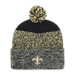 '47 New Orleans Saints Beanie Static Cuff Knit Hat