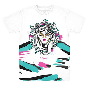 South Beach 8 Medusa Waves Shirt to Match Jordan 8 South Beach Sneakers (XL)